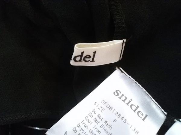 snidel(スナイデル) オールインワン サイズF レディース美品  黒 4