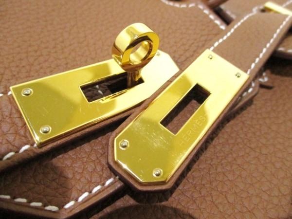 エルメス ハンドバッグ美品  バーキン30 ゴールド ゴールド金具 トゴ 3