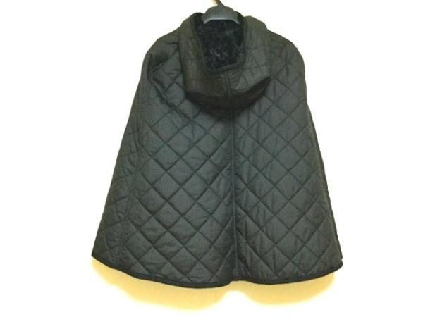 マッキントッシュ ポンチョ サイズ38 M レディース美品  黒 2