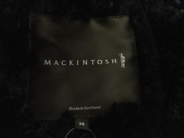 マッキントッシュ ポンチョ サイズ38 M レディース美品  黒 3