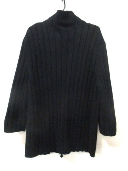 HERMES(エルメス) 長袖セーター サイズL メンズ 黒 ジップアップ 2