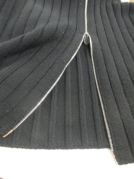 HERMES(エルメス) 長袖セーター サイズL メンズ 黒 ジップアップ 6