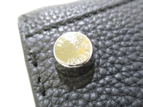 フェンディ ビジネスバッグ美品  ピーカブー/セレリア 7VA388-6E9 黒 7
