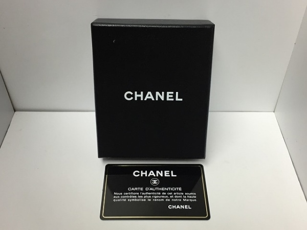 CHANEL(シャネル) カードケース美品  - 黒×シルバー シルバー金具 4