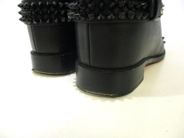 クリスチャンルブタン ロングブーツ 37 レディース美品  EGOUTINA 黒 8