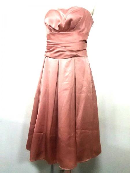 aimer(エメ) ドレス サイズ9 M レディース ベージュ ベアトップ 2