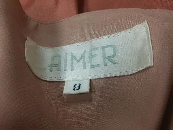 aimer(エメ) ドレス サイズ9 M レディース ベージュ ベアトップ 4