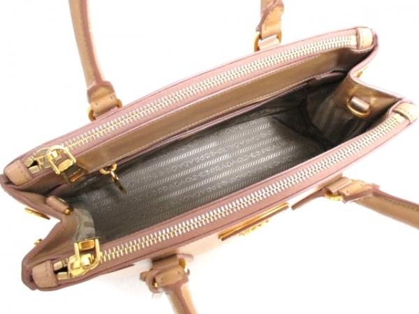プラダ ハンドバッグ - BN2316 ベージュ サフィアーノヴェルニ 5