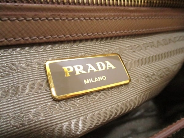プラダ ハンドバッグ - BN2316 ベージュ サフィアーノヴェルニ 6