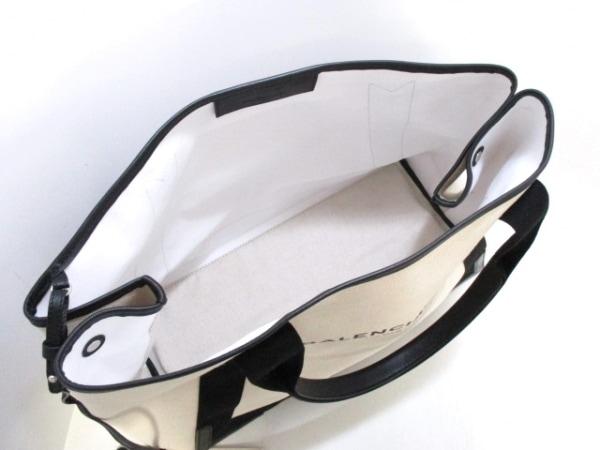 BALENCIAGA(バレンシアガ) トートバッグ美品  ネイビーカバM 339936 5