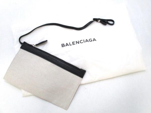 BALENCIAGA(バレンシアガ) トートバッグ美品  ネイビーカバM 339936 8