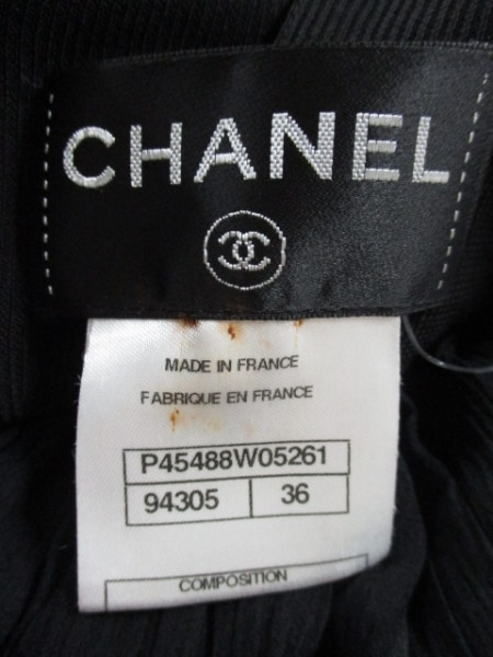 CHANEL(シャネル) オールインワン サイズ36 S レディース美品  黒 3