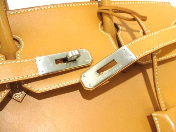 HERMES(エルメス) ハンドバッグ バーキン30 ナチュラル シルバー金具 3