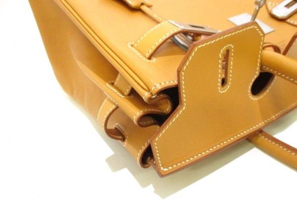 HERMES(エルメス) ハンドバッグ バーキン30 ナチュラル シルバー金具 8