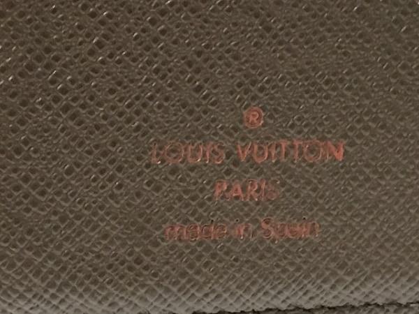 ルイヴィトン 手帳 ダミエ美品  アジェンダPM R20700 エベヌ 4