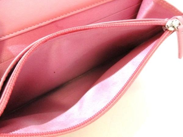 CHANEL(シャネル) 財布美品  カメリア A47421 ピンク ラムスキン 4