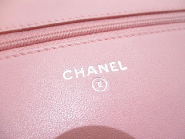 CHANEL(シャネル) 財布美品  カメリア A47421 ピンク ラムスキン 5