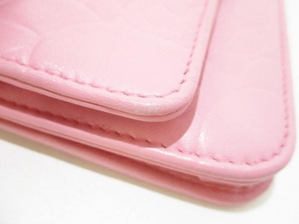 CHANEL(シャネル) 財布美品  カメリア A47421 ピンク ラムスキン 6