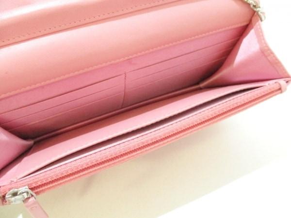 CHANEL(シャネル) 財布美品  カメリア A47421 ピンク ラムスキン 7