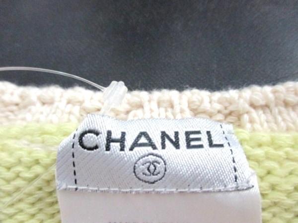 シャネル 長袖セーター サイズ42 L レディース美品  ボーダー 3