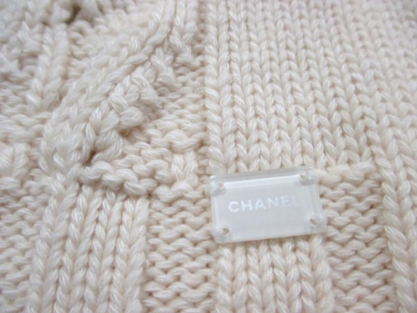 シャネル 長袖セーター サイズ42 L レディース美品  ボーダー 5