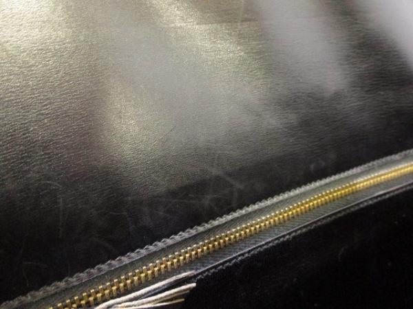 エルメス ハンドバッグ ドラッグ26 黒 ゴールド金具 クロコダイル 9