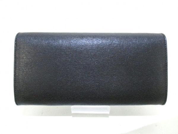 FENDI(フェンディ) 財布美品  - 8M0365 黒×白×マルチ レザー 2