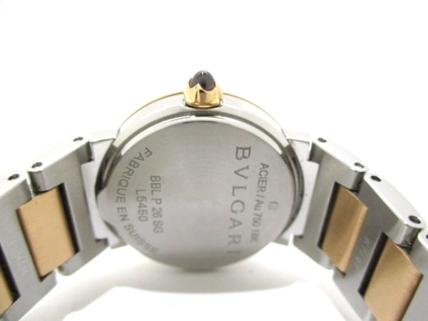 ブルガリ 腕時計美品  ブルガリブルガリ BBLP26SG レディース 3