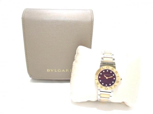 ブルガリ 腕時計美品  ブルガリブルガリ BBLP26SG レディース 9