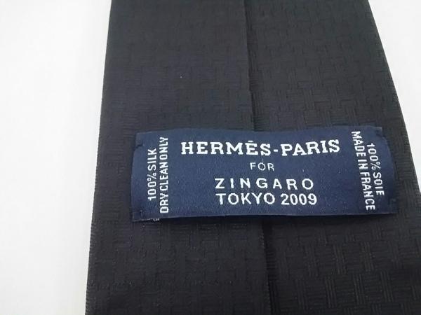HERMES(エルメス) ネクタイ メンズ美品  ネイビー ZINGAROTOKYO2009 3