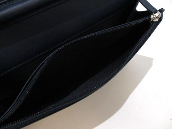 シャネル 財布美品  キャビアスキン A48654 ネイビー キャビアスキン 4