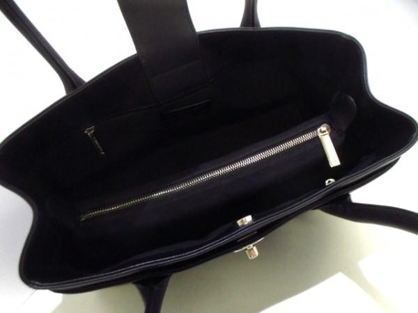 シャネル トートバッグ美品  エグゼクティブライン A67282 黒 レザー 5
