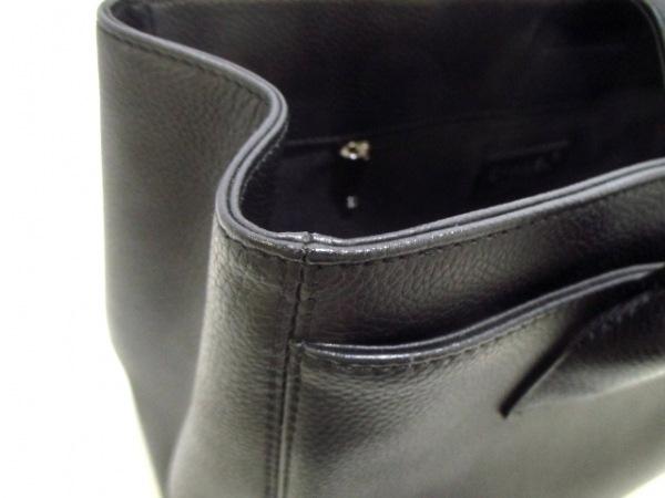 シャネル トートバッグ美品  エグゼクティブライン A67282 黒 レザー 7