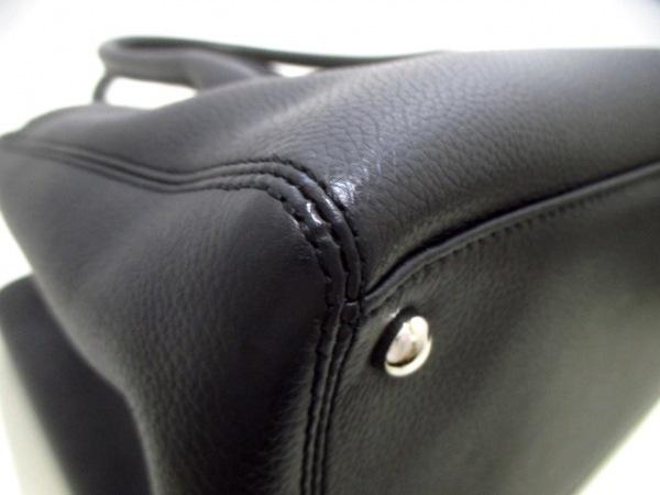シャネル トートバッグ美品  エグゼクティブライン A67282 黒 レザー 8