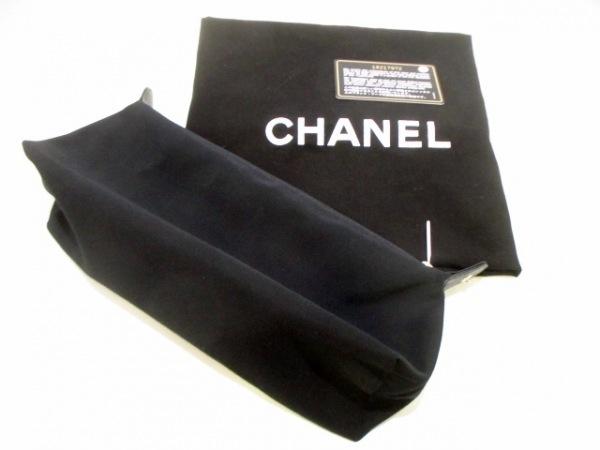 シャネル トートバッグ美品  エグゼクティブライン A67282 黒 レザー 9