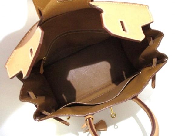 HERMES(エルメス) ハンドバッグ オータクロア32 ナチュラル G金具 2