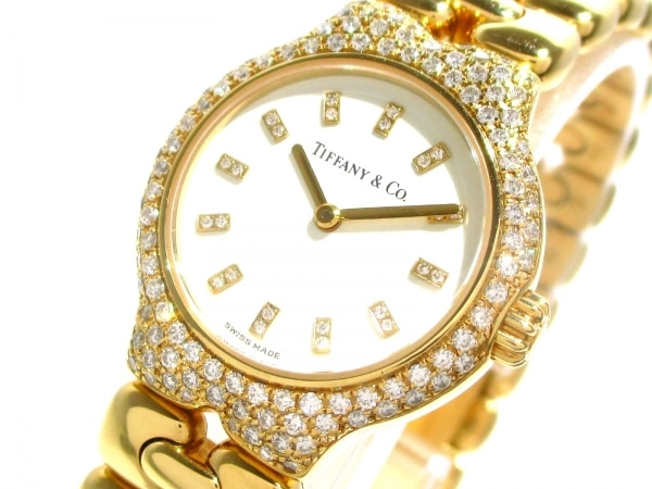 ティファニー 腕時計美品  ティソロ L0133 レディース 白 0