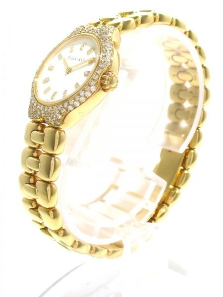 ティファニー 腕時計美品  ティソロ L0133 レディース 白 2