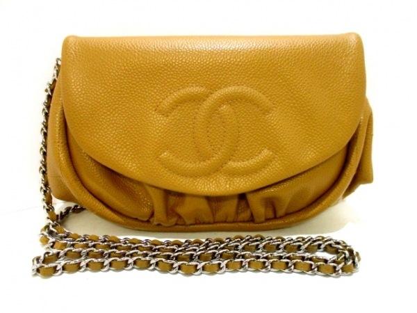 CHANEL(シャネル) 財布美品  ハーフムーン A40033 ライトブラウン 0