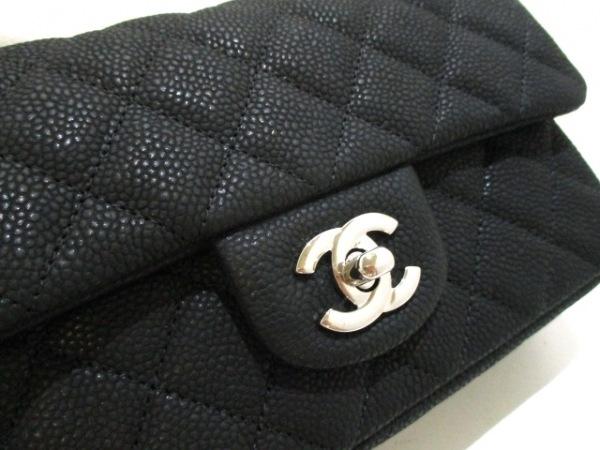 CHANEL(シャネル) ショルダーバッグ美品  ミニマトラッセ A69900 黒 7
