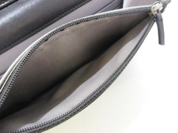 シャネル 財布 カメリア A47421 黒 シルバー金具/チェーンウォレット 4
