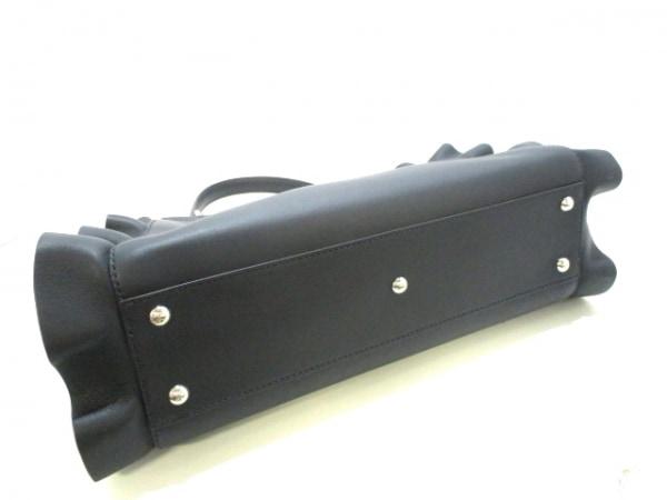 フェンディ ハンドバッグ美品  ピーカブー 8BN290 フリル レザー 4