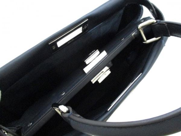 フェンディ ハンドバッグ美品  ピーカブー 8BN290 フリル レザー 5