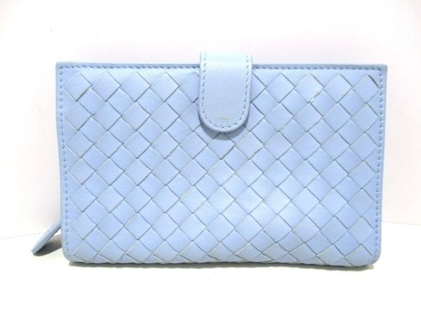 ボッテガヴェネタ 2つ折り財布美品  イントレチャート B03506299C 0