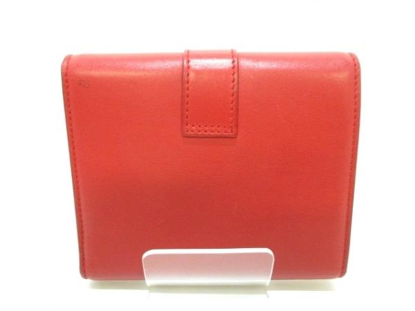 サンローランパリ 3つ折り財布美品  クラシック Y 328599 レッド 2