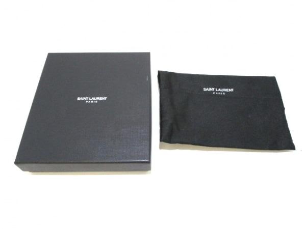 サンローランパリ 3つ折り財布美品  クラシック Y 328599 レッド 8