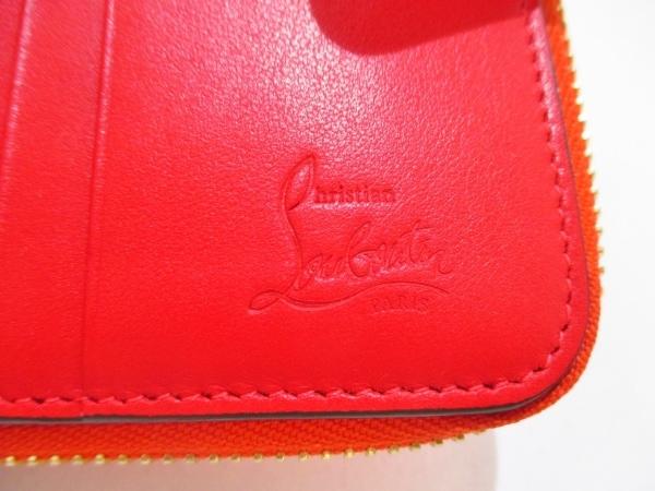 クリスチャンルブタン 2つ折り財布美品  パネトーネ/スパイク レザー 5
