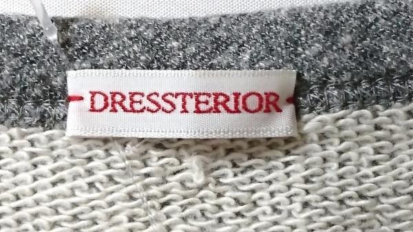 DRESSTERIOR(ドレステリア) トレーナー レディース グレー×黒 3