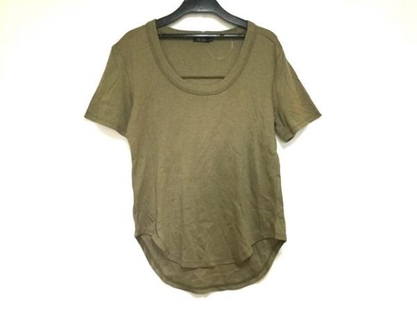 エムフィル 半袖Tシャツ サイズ38 M レディース美品  ダークグリーン 0