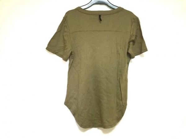エムフィル 半袖Tシャツ サイズ38 M レディース美品  ダークグリーン 2